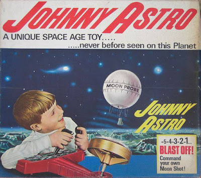 Johnny Astro - A Unique Space Age Toy