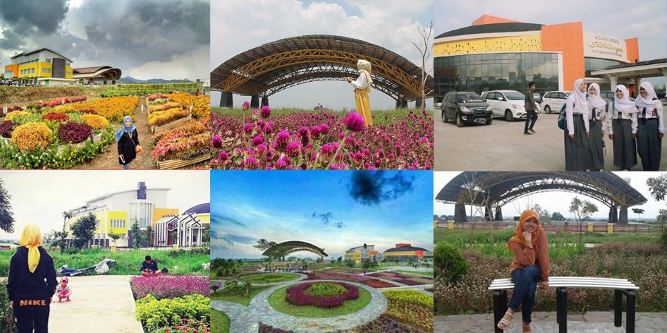 Taman Bunga Soreang di Gedung Sabilulungan