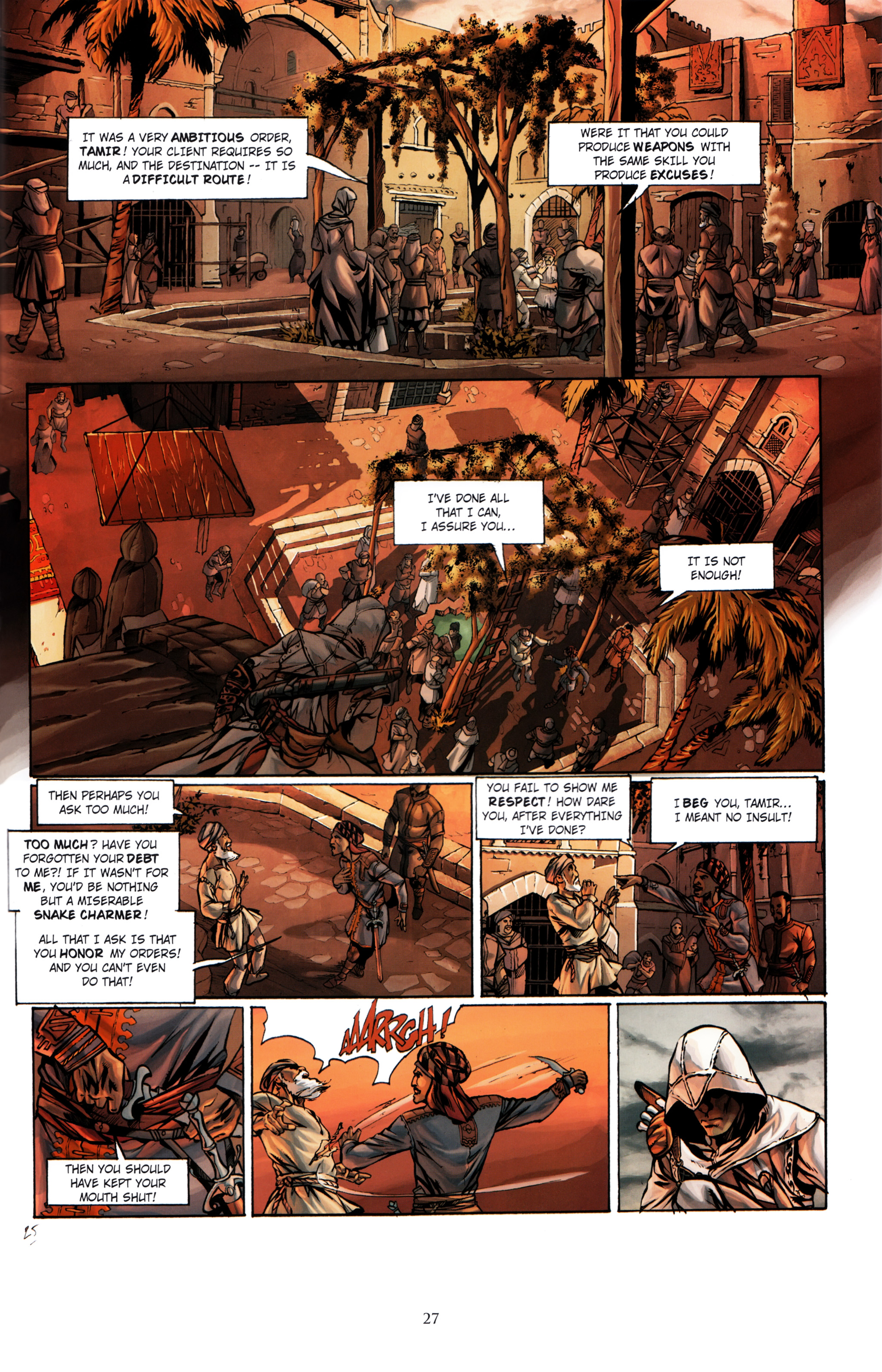 Read online Assassin's Creed (2012) comic -  Issue #1 - 31