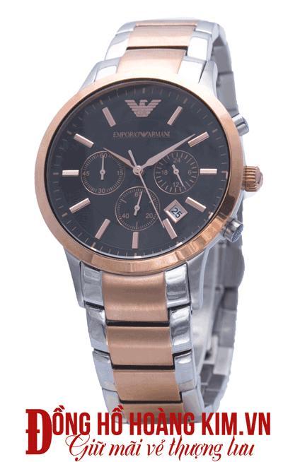 đồng hồ nam dây sắt giá rẻ cao cấp