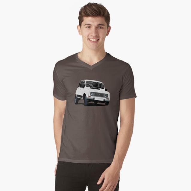 Renault 4 t-shirts