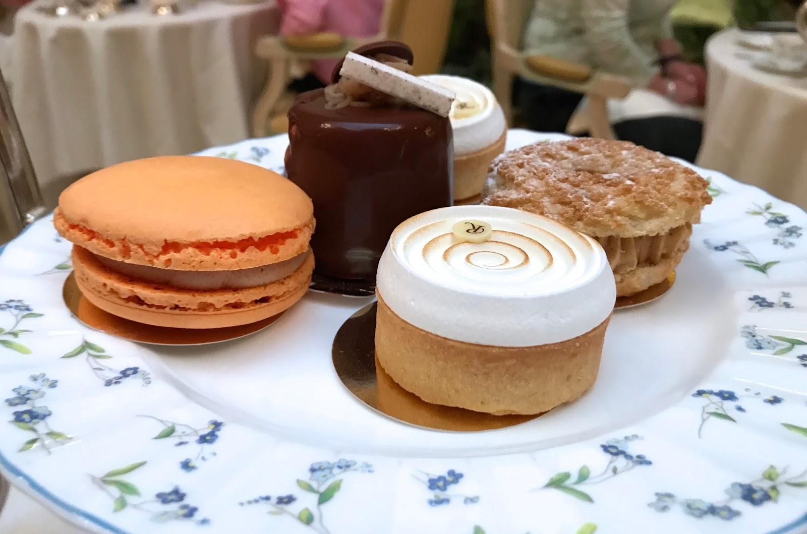 pastries and teacakes