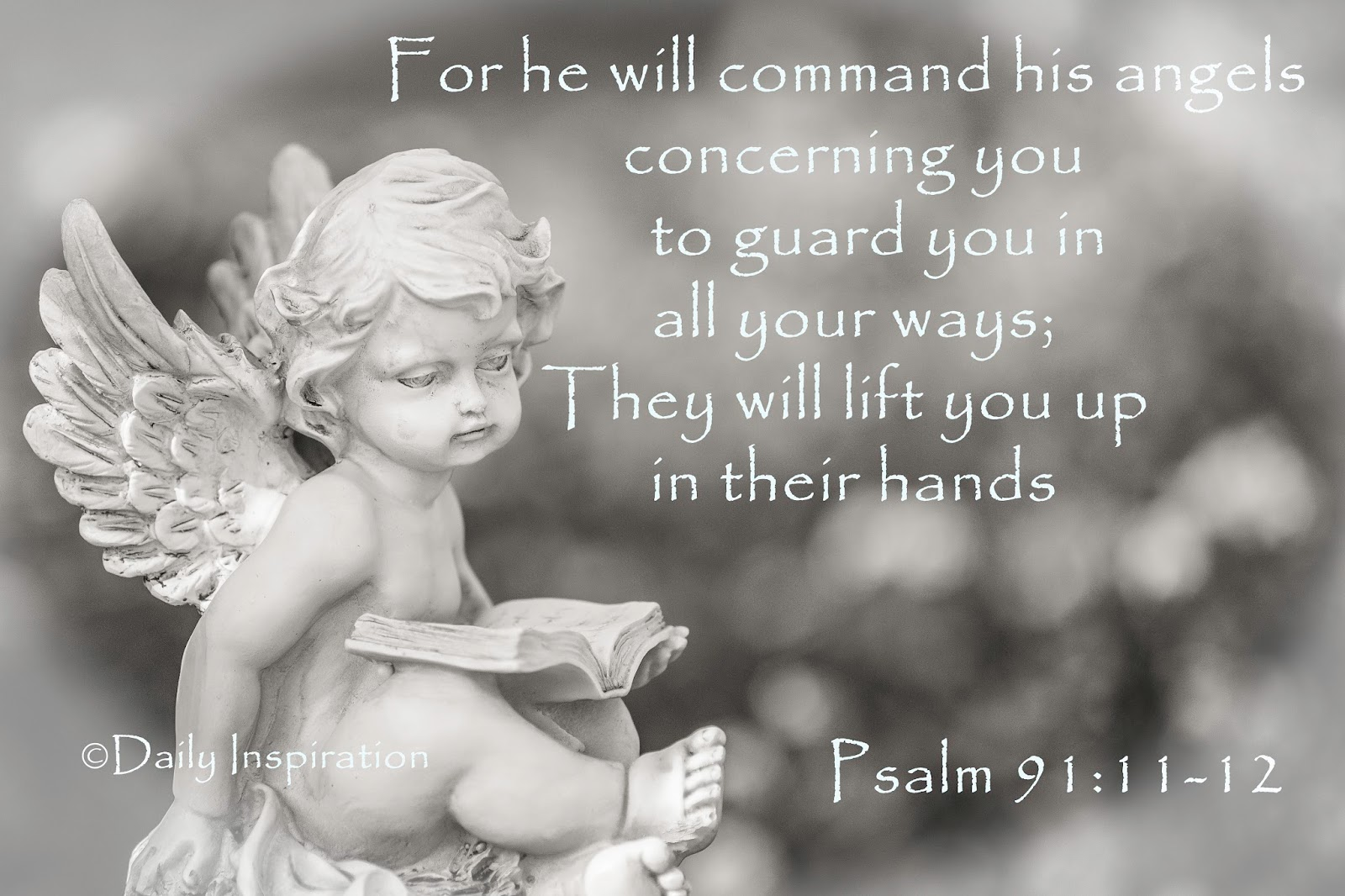 For He Will Command His Angels Concerning You