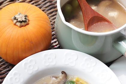 Pumpkin Mee Hoon Kueh 金瓜面粉粿