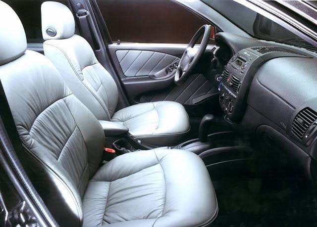 Fiat Marea 2.4 Automático - interior
