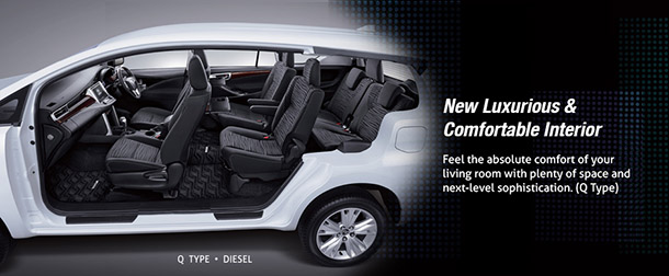 All New Toyota Kijang Innova V Luxury Pajak Mobil Grand Avanza 2016 Interior Type G - Q ...