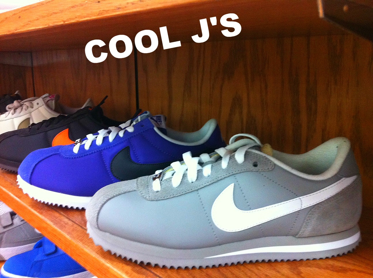 3561ba549f The Nike Cortez is a classic shoe in the lines of the Air Force one. Very  comfortable with a variety of colors. Check out Cool J's Sports Center 20th  Street ...
