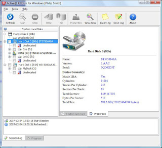 Active KillDisk HardDriveEraser5_0Pro 100% Full Working