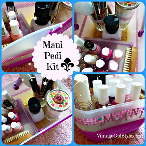 Mani-Pedi Kit, A One Stop Convenience