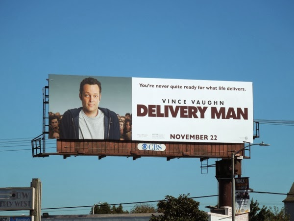 Delivery Man film billboard