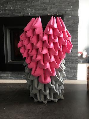 une f te une deco distributeur de serviettes coeur. Black Bedroom Furniture Sets. Home Design Ideas