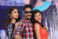 Haranath Policherla Mounika Nishi Ganda Pos at Tick Tock Telugu Movie Trailer Launch Event  0042.jpg