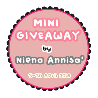 Mini Giveaway By Niena Annisa'