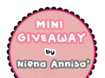 Mini Giveaway By Niena Annisa