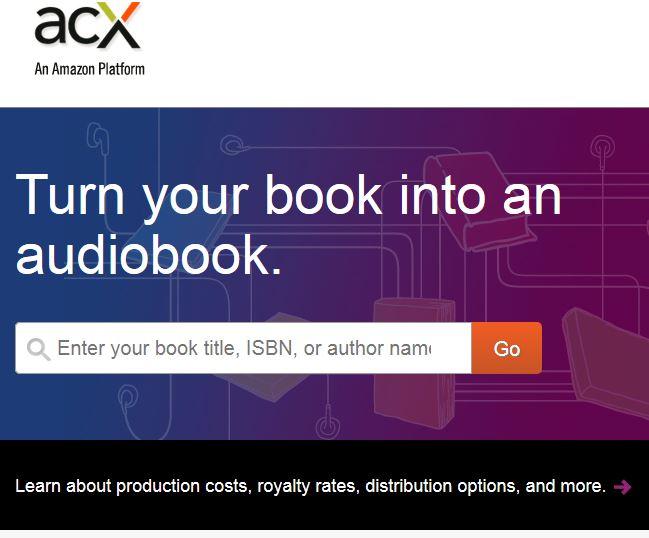 Audio Books for Self-Published Authors--ACX \u2013 Elizabeth Spann Craig - self published author