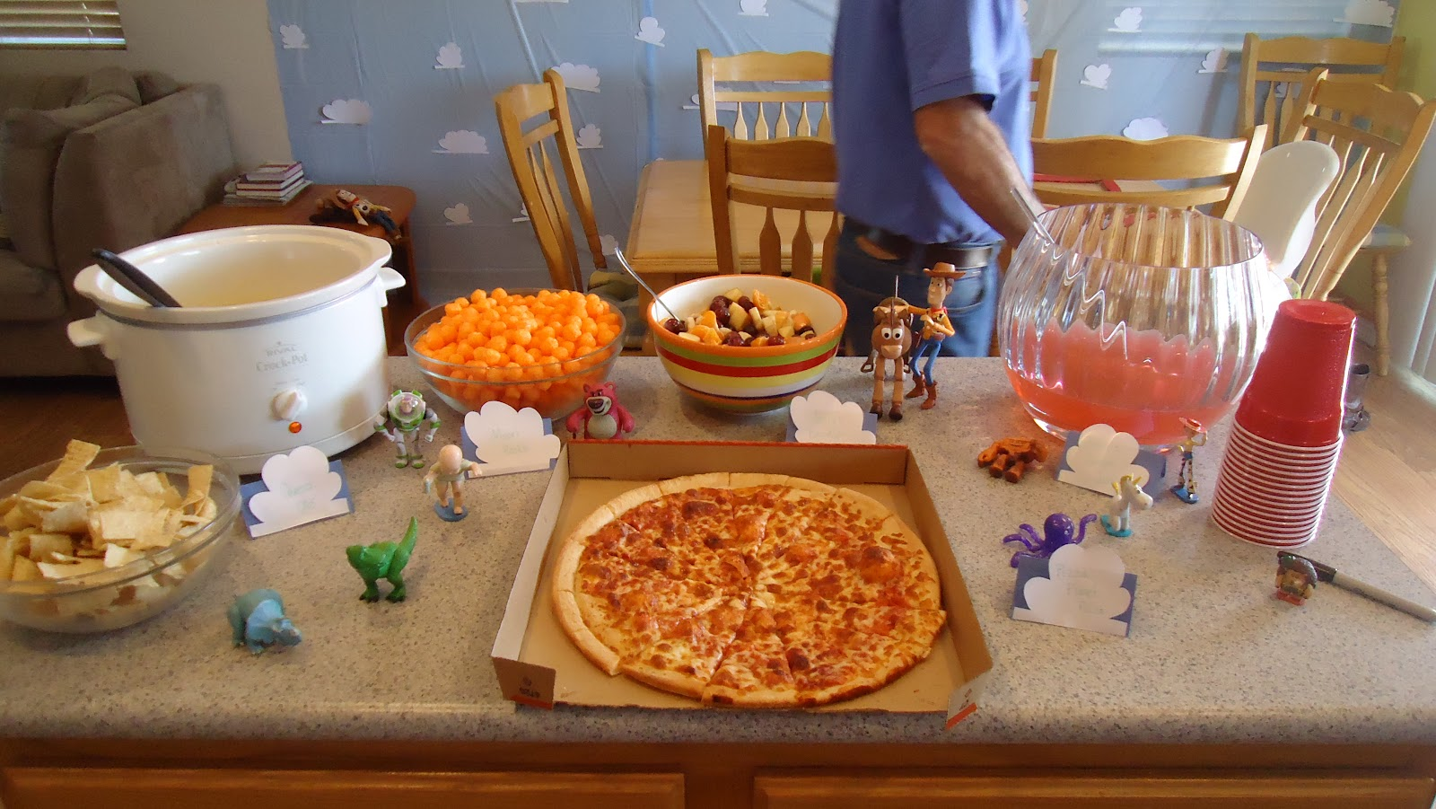 Twingle Mommmy Toy Story Birthday Party Ideas