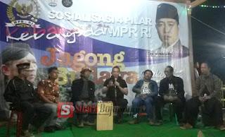 Ganyengnya Jagong Budaya Di Desa Eksotis, Bersama Wahyu Subagdiono & Didik Mukrianto