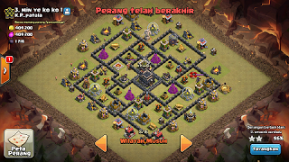 base war th 9 terbaru bomb tower