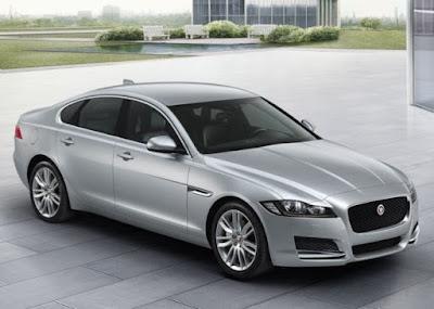 Jaguar XF Dimensions