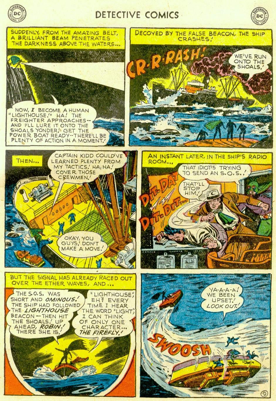 Read online Detective Comics (1937) comic -  Issue #184 - 11