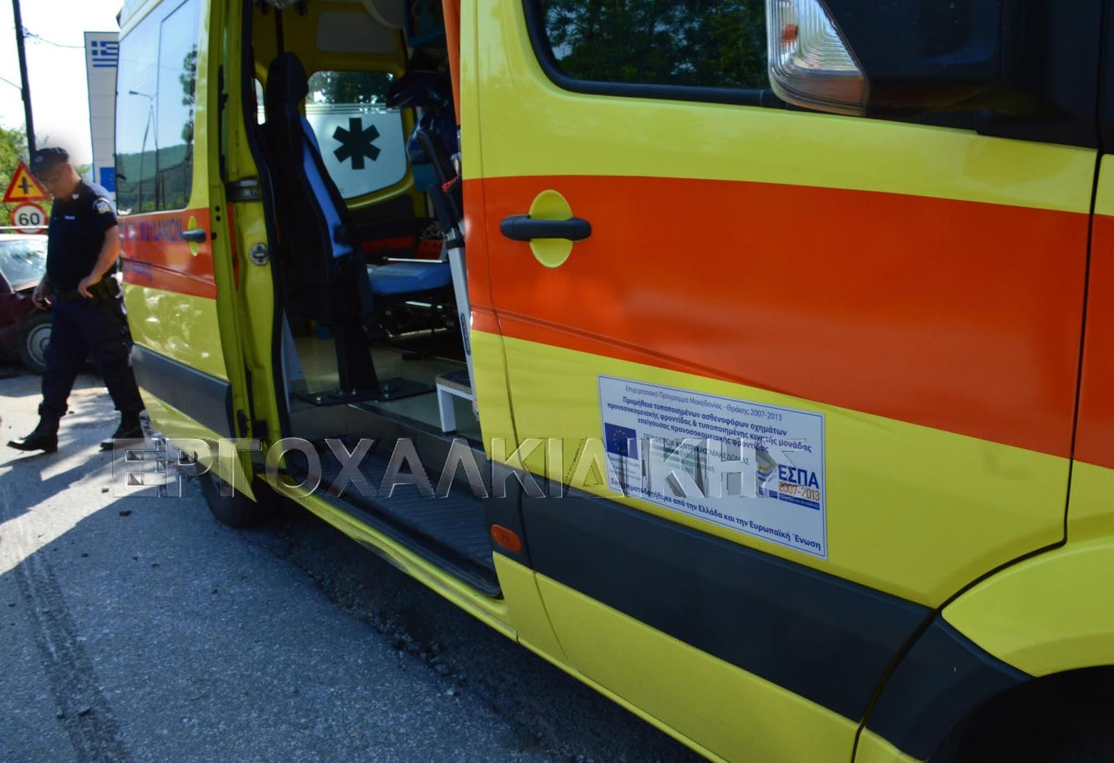 Μεθυσμένος οδηγός προκάλεσε τροχαίο με τραυματίες στη Μουδανίων
