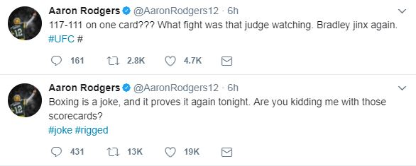 Aaron Rodgers on PacHorn