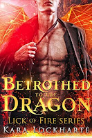 Book Review - Betrothed to the Dragon - Katrina Roets