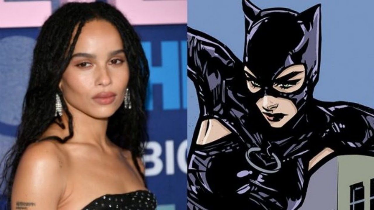 Zoe Kravitz fala sobre seu papel em The Batman e cita Michelle Pfeiffer
