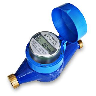 Elektronik ekranlı su sayacı