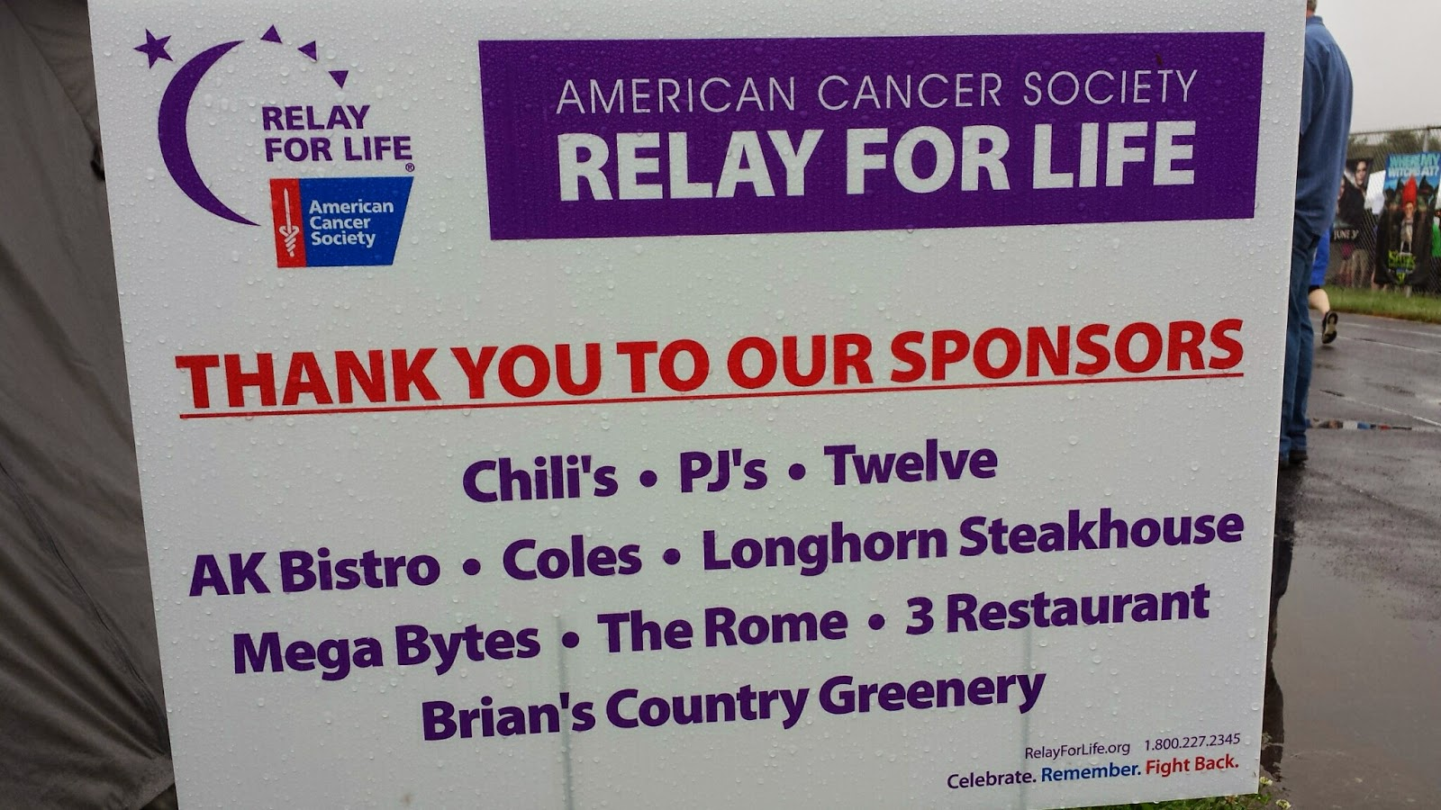 thanks to all the sponsors who helped!