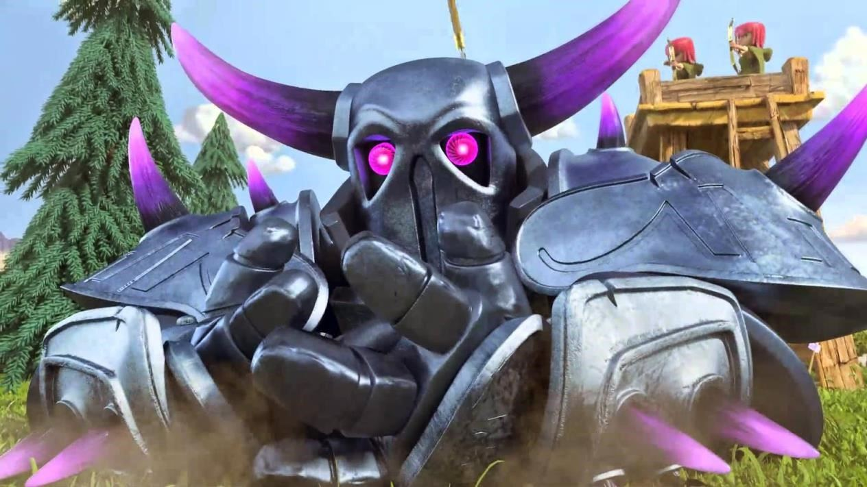 clash of clans pekka wallpaper hd
