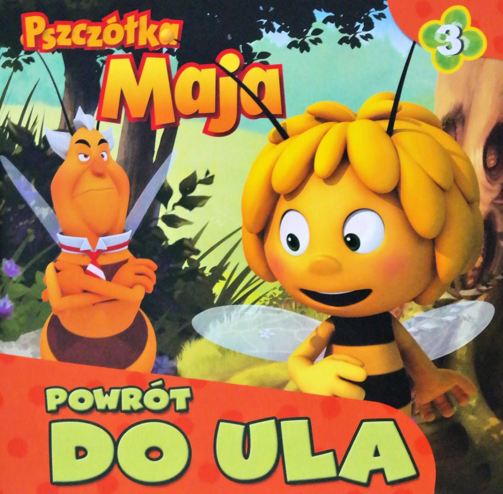 pszczółka maja książeczka