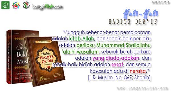 TERNYATA Doa Shalat Istikharah Ini Menggunakan Hadits Dha'if