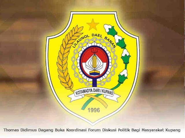 Thomas Didimus Dagang Buka Koordinasi Forum Diskusi Politik Bagi Masyarakat Kota Kupang