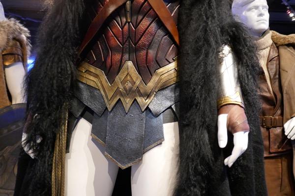 Wonder Woman movie costume detail