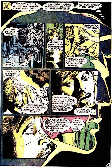 Green Lantern Green Arrow #86 dc comic book page art by Neal Adams