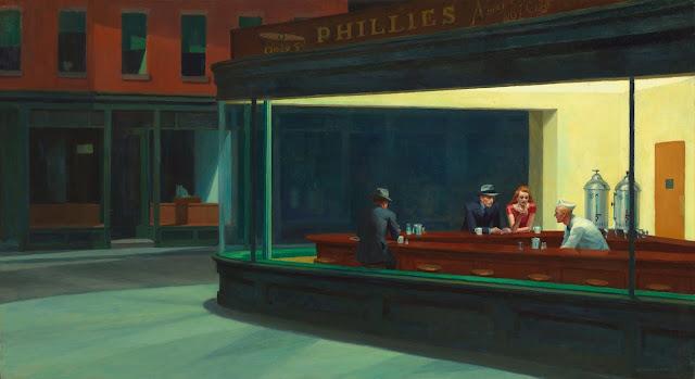 Nighthawks, de Edward Hopper