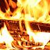 Jechali do pożaru stodoły, na miejscu zastali osoby wypalające kable