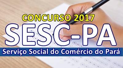 Concurso SESC Pará 2017