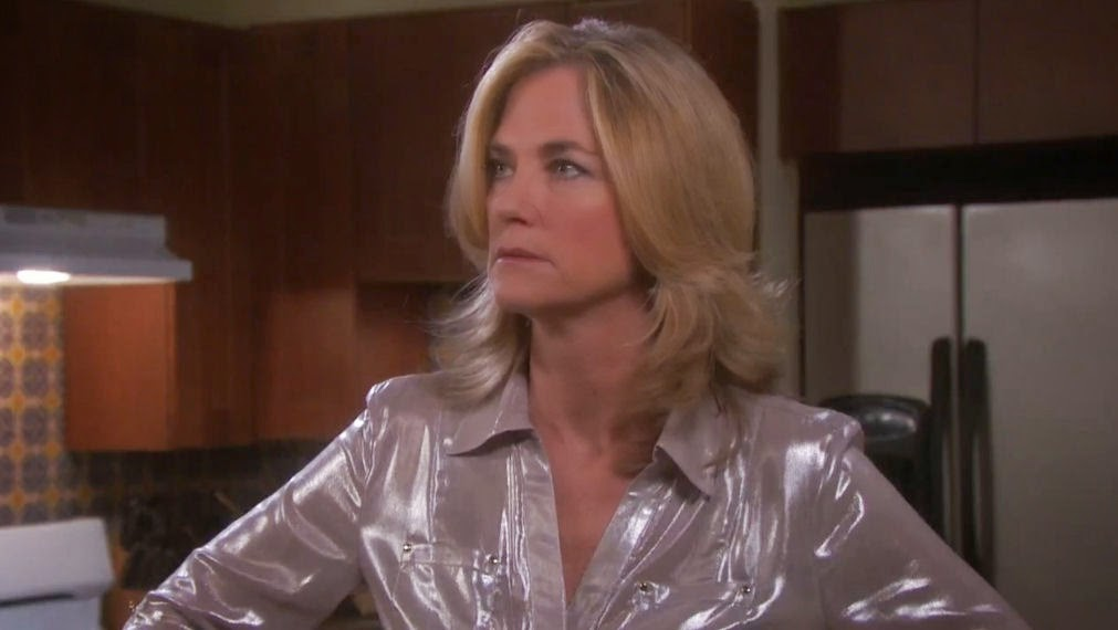 Kassie Depaivia Silver Shiny Blouse Satin Lite House