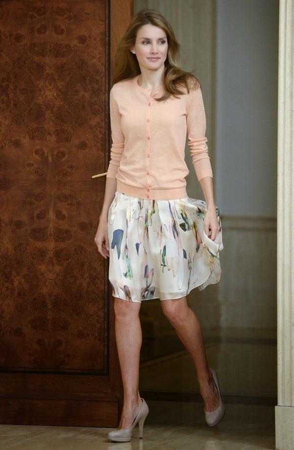 O estilo da Rainha Letizia Ortiz