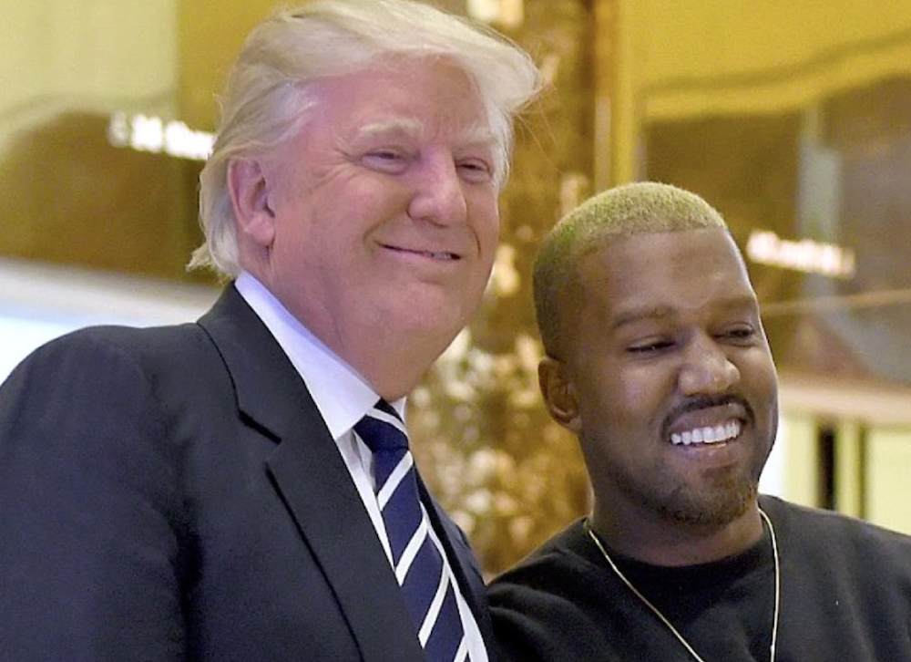 Kanye west meets with Donald Trump
