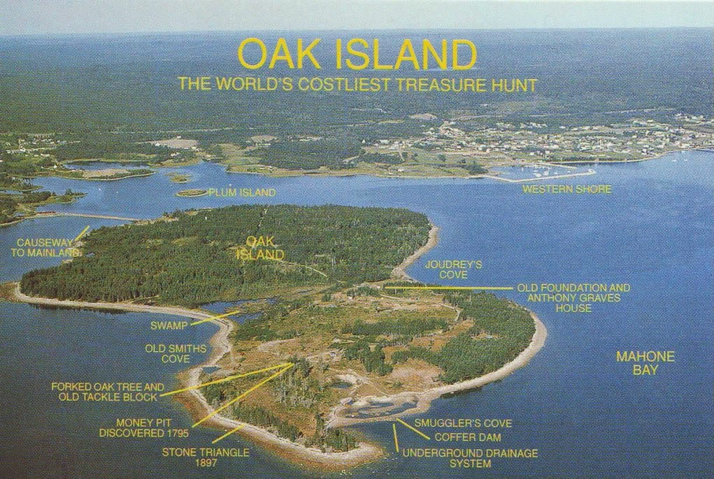 Island Was Finally Who Solved Mystery Oak