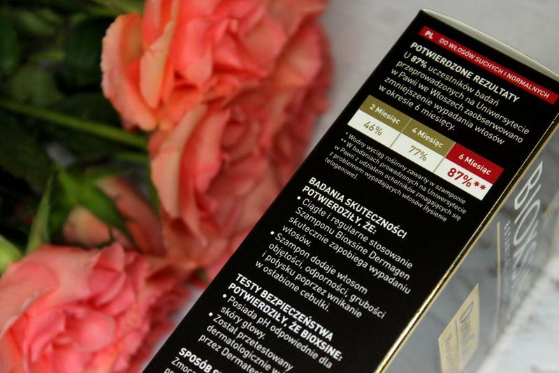 Bioxsine DermaGen ziołowy szampon przeciw wypadaniu włosów dla kobiet