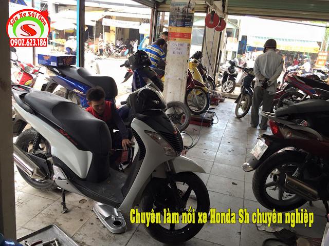 Chuyên làm nồi xe máy Honda SH tăng tốc nhẹ nhàng, mạnh, ít hao xăng