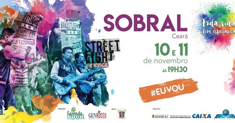 Resultado de imagem para Começa HOJE, em Sobral, o Musical Street Light, com a banda internacional Gen Rosso