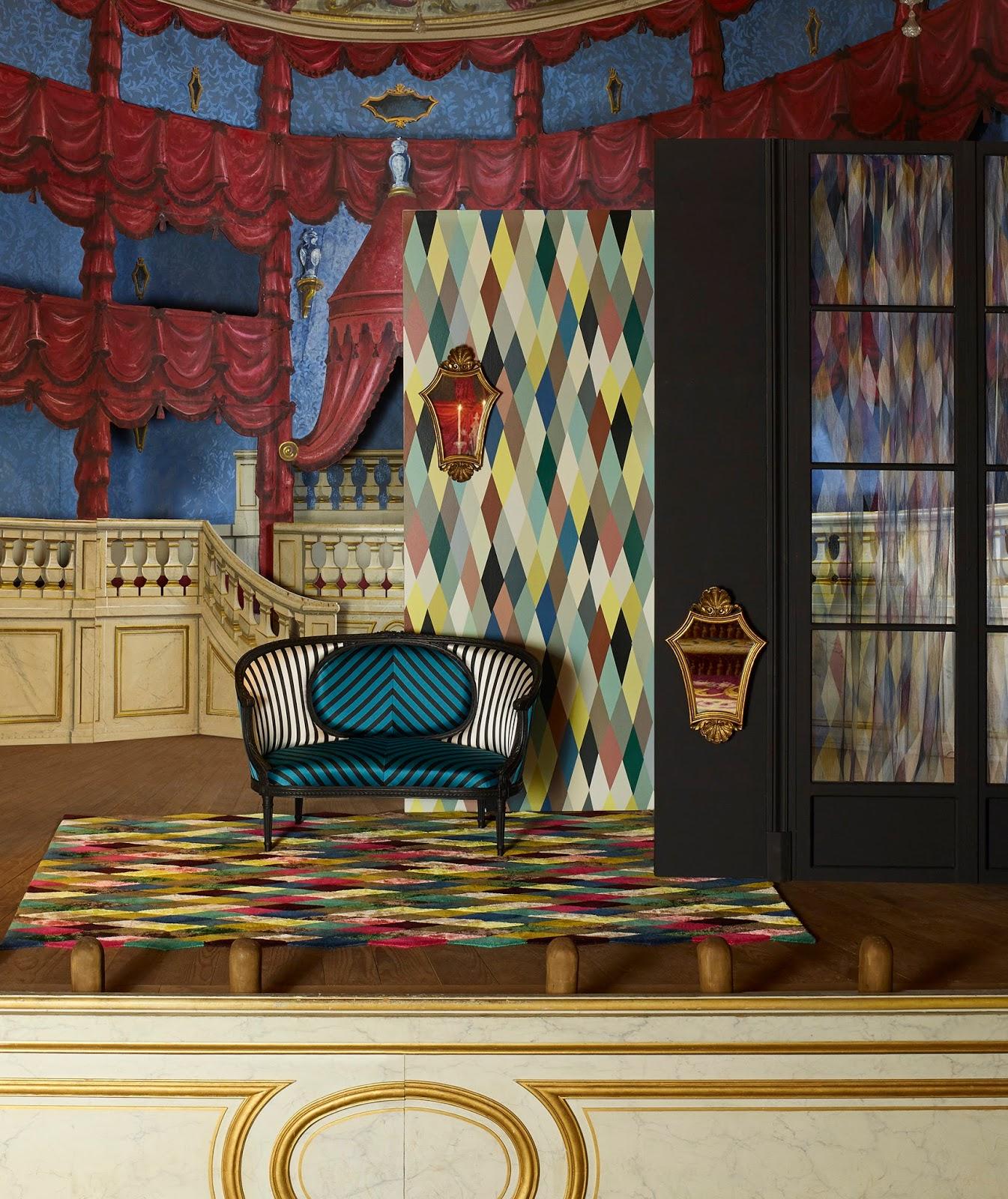 atelier anne lavit artisan tapissier d corateur 69007 lyon christian lacroix au theatre ce soir. Black Bedroom Furniture Sets. Home Design Ideas