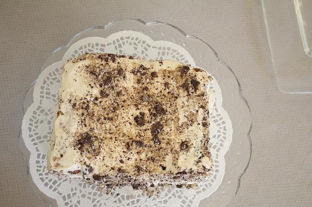 IMG 2765 - עוגת אגוזים וקרם מוקה משגעת לפסח