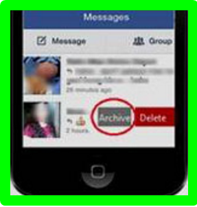 How to Retrieve Archived Messages on Facebook Android