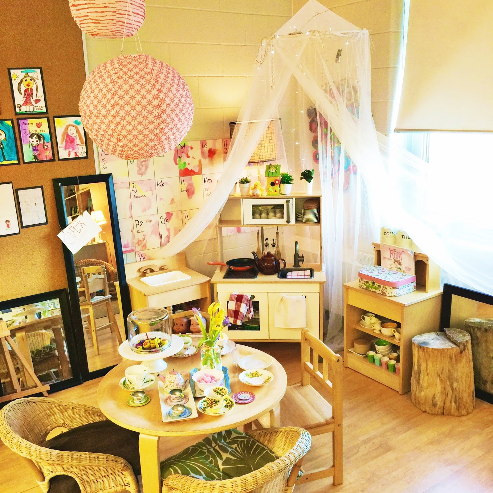Relaxing Classroom Decor : Transforming our learning environment into a space of